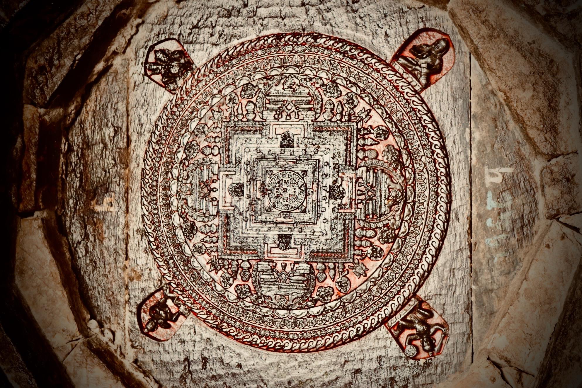 Kalacakra Mandala by Nabin K Sapkota
